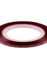 Glitter Striping Tape Red