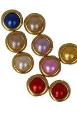 Multicolor Parels Gouden Rand