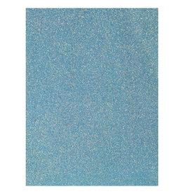 Glitterpapier Blauw