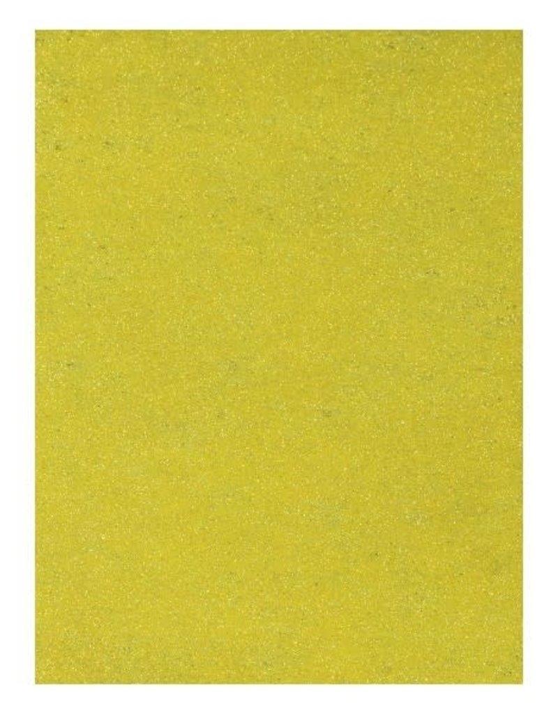 Glitter Paper Yellow
