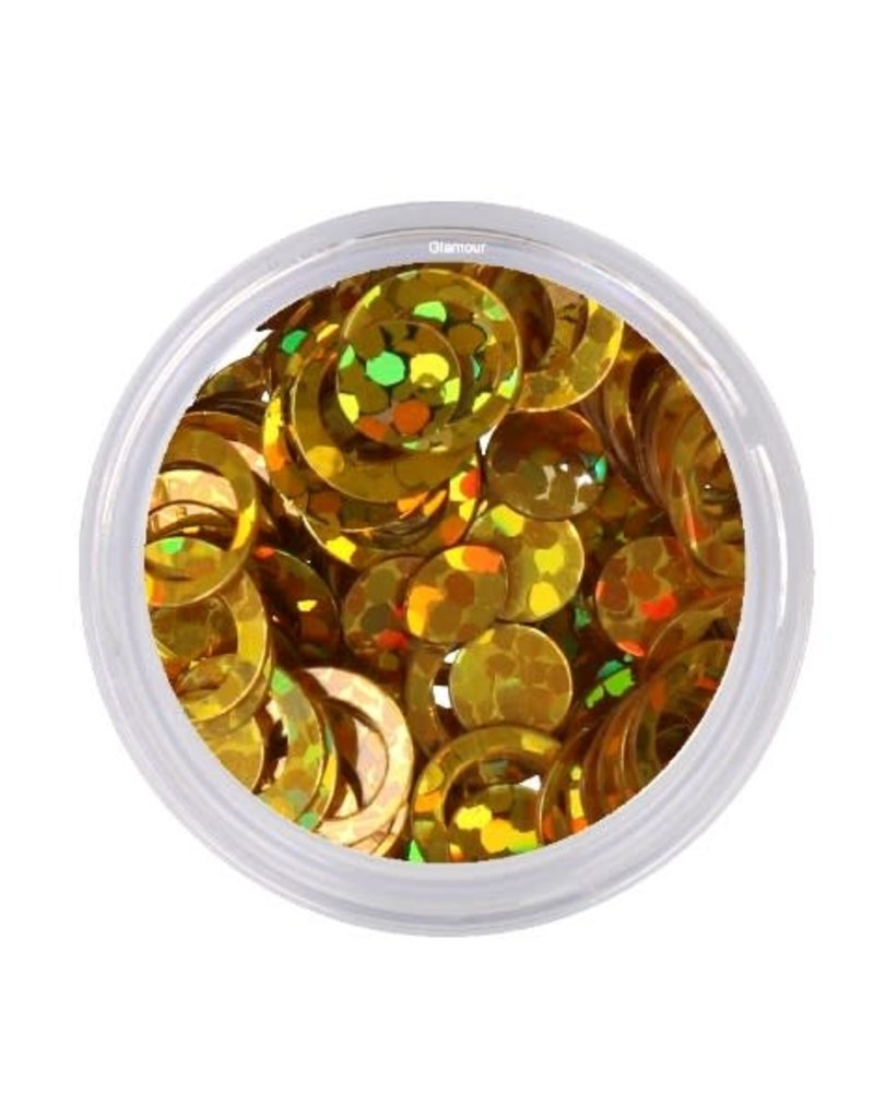 Shapes Round Hollow Gold