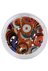 Shapes Round Hollow Multicolor