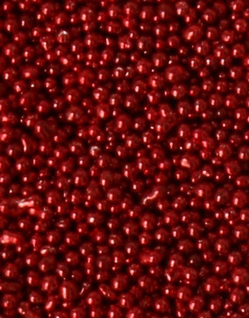 Micro Beads Dark Red