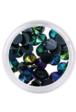 Dark Aurora Crystals Flatback 4mm