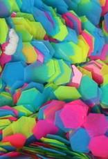 Hexagons Neon Matte