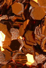 Hexagons Copper