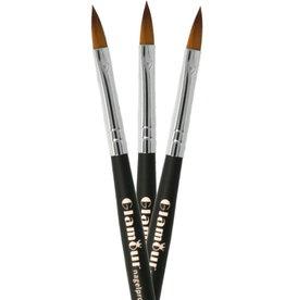 Acrylic Brush NR 8 Black
