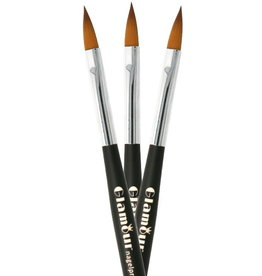 Acryl Brush NR 10 Zwart