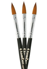 Acryl Brush NR 12 Zwart