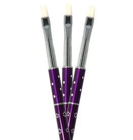 Gel Brush One Stroke Purple NR 6