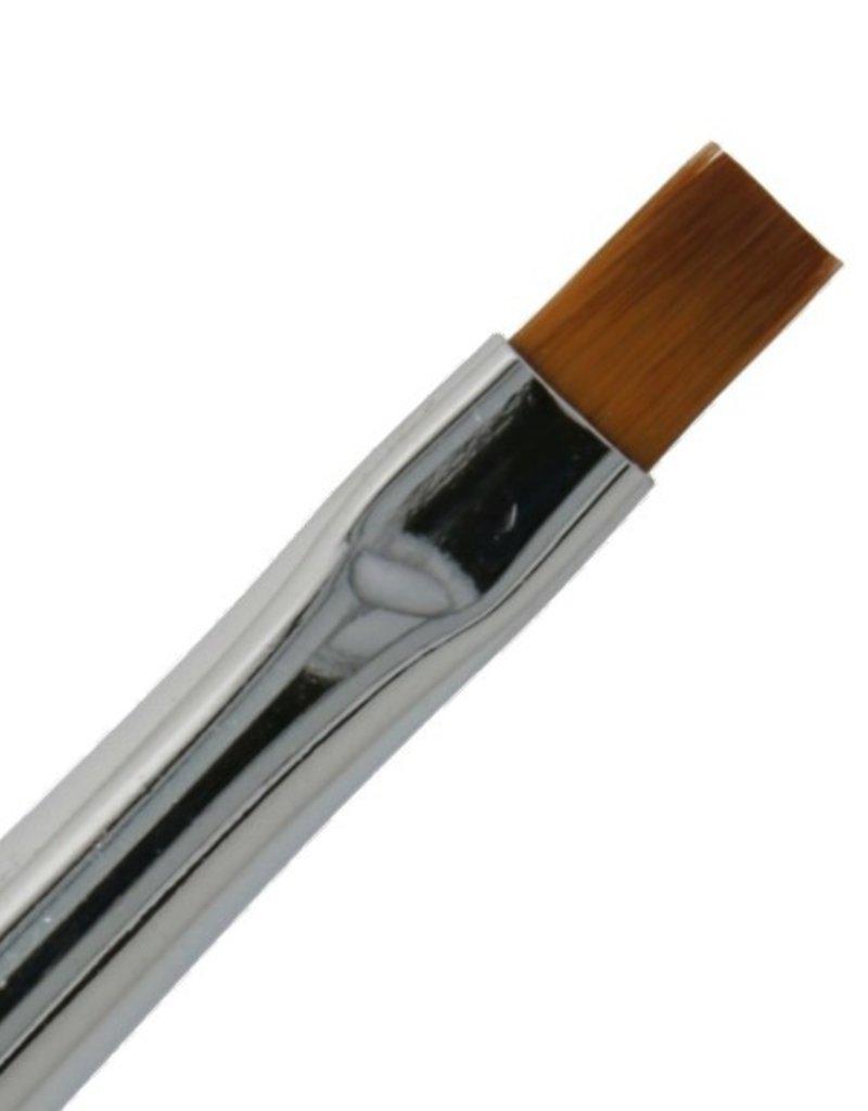 Gel Brush NR 6 Zwart