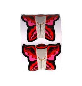 Nail Template Butterfly Ballerina