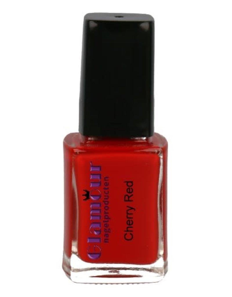 Stamping Nailpolish Cherry Red