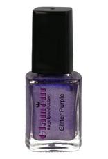 Stamping Nailpolish Glitter Purple
