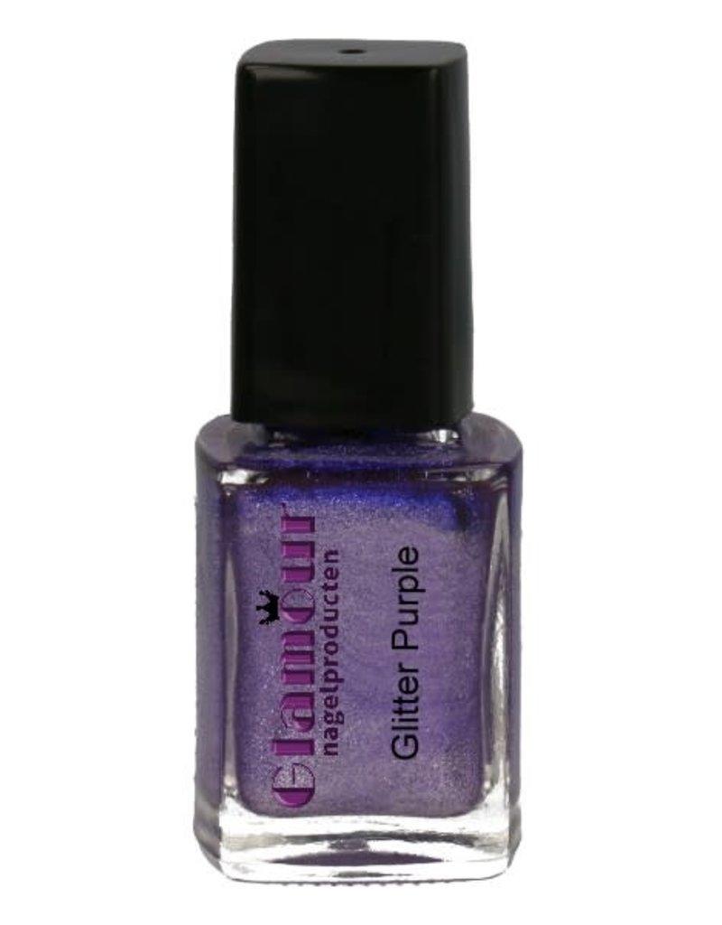 Stempellak Glitter Purple