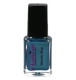 Stamping Nailpolish Metallic Blue