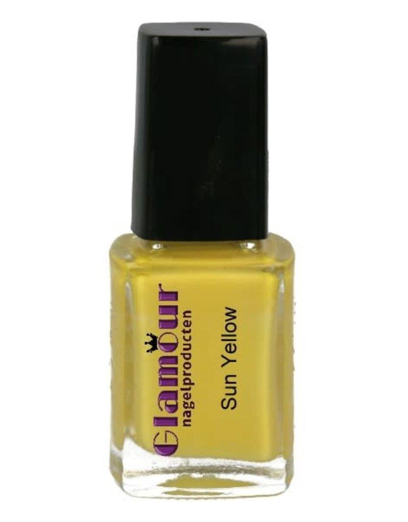 Stamping Nailpolish Sun Yellow