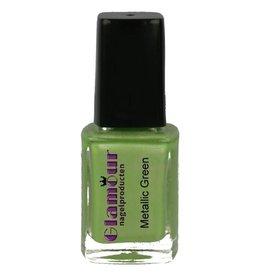 Stempellak Metallic Green