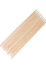 Rosewood Manicure Sticks Short 10 pcs