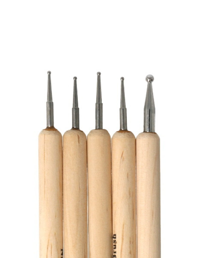 Dotting Tool Set Hout