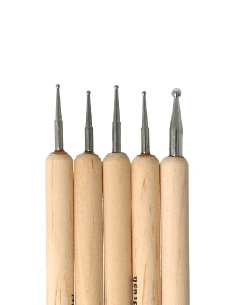 Dotting Tool Set Wood