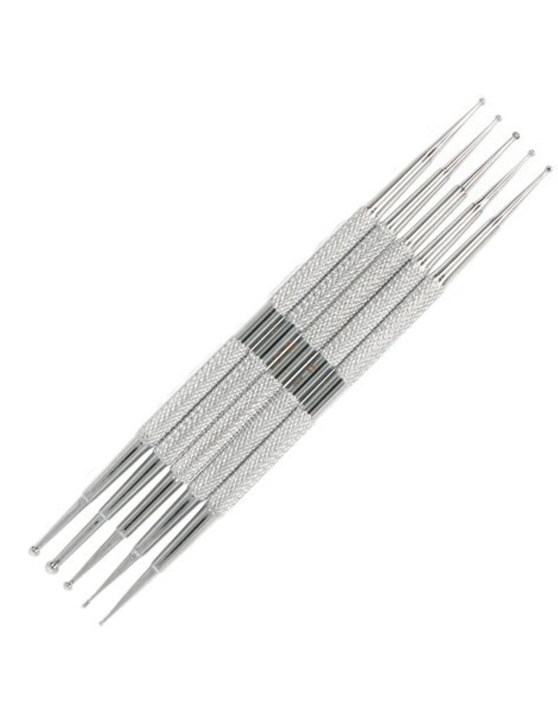 Dotting Tool Set Steel