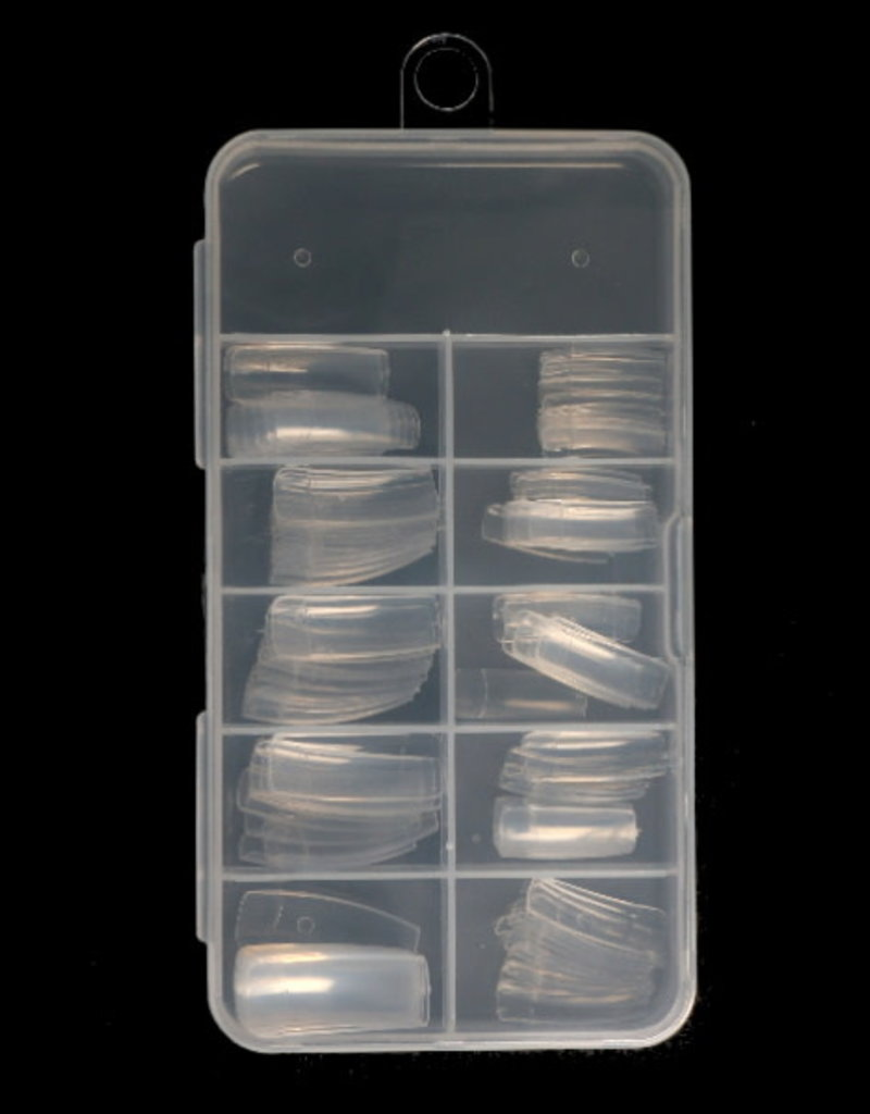 100 Tips Clear Sorting Box