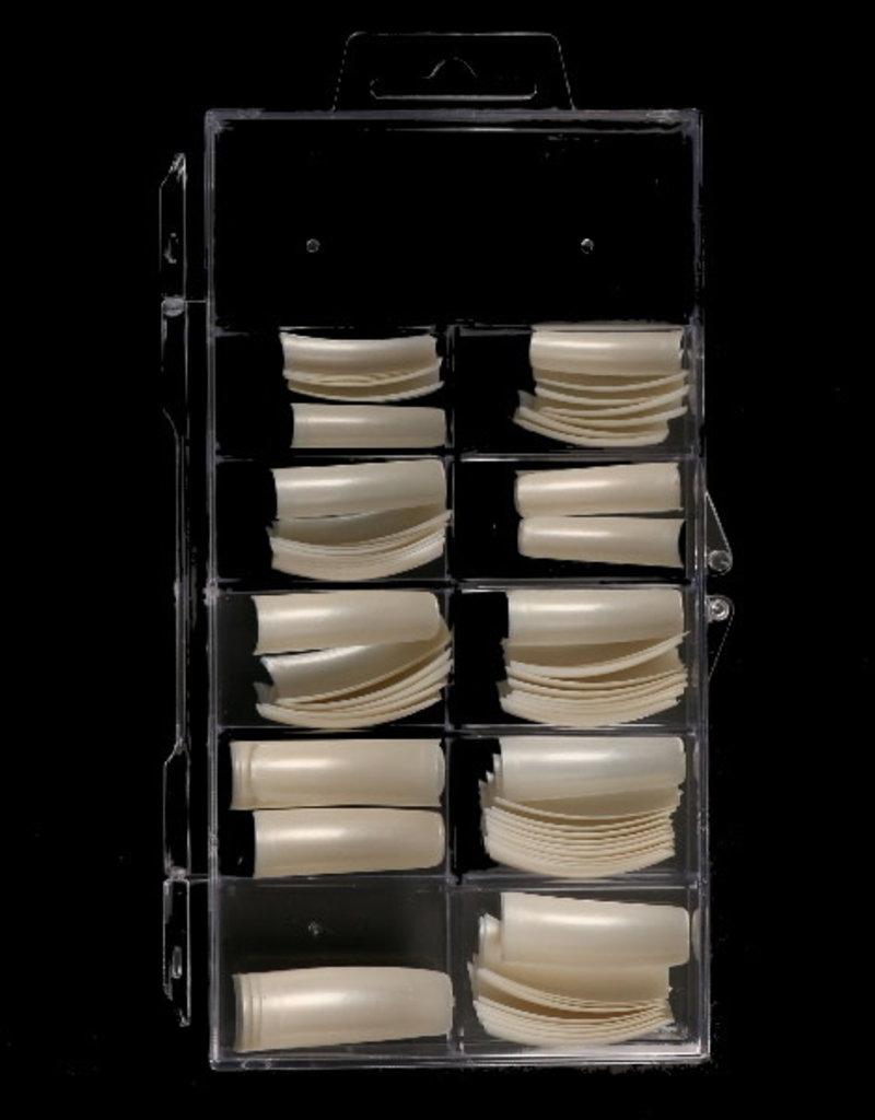 100 Tips French Pearl White Sorteerdoos