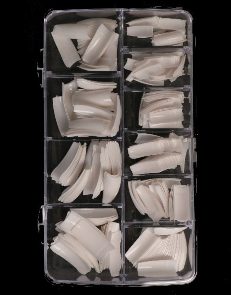 250 Tips French White Sorting Box