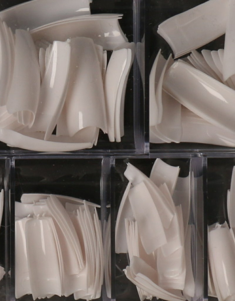 500 Tips French White Sorting Box