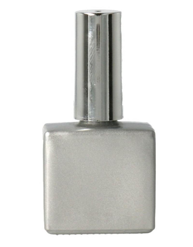 Leeg Flesje 15ML Zilver