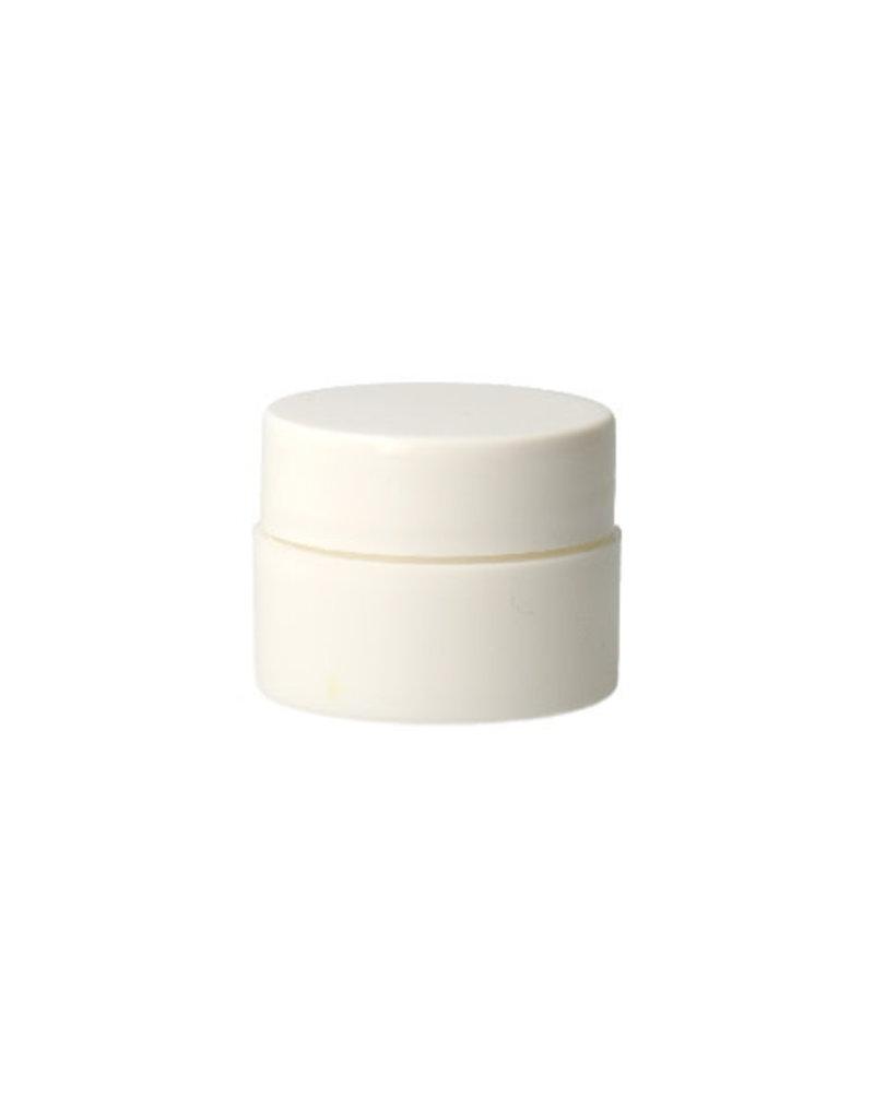 Empty Cream Jar White 5ML