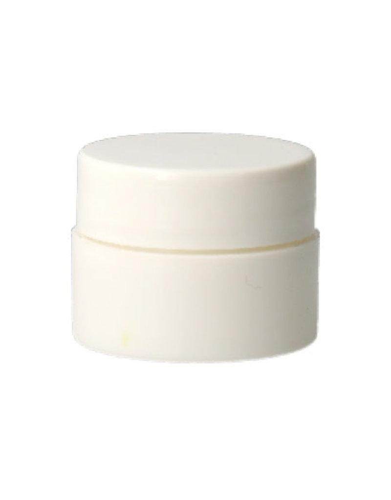 Empty Cream Jar White 15ML
