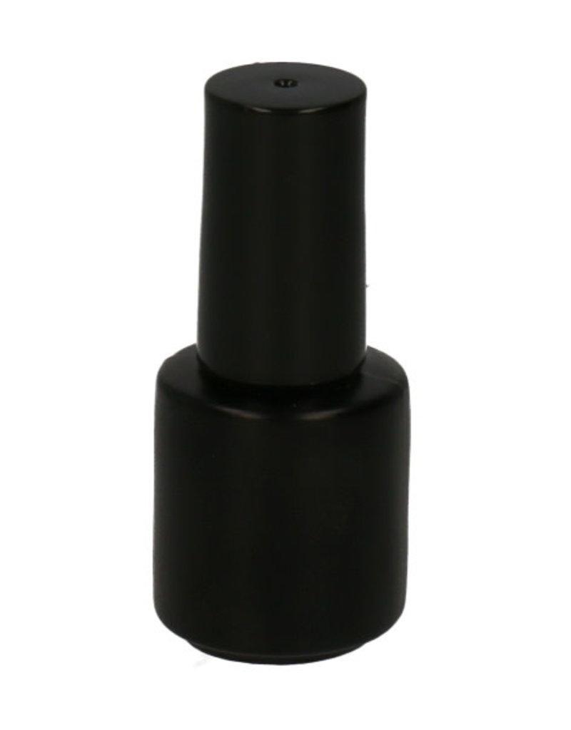 Leeg Flesje Zwart 15 ML