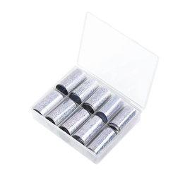 Transfer Foil Box Silver