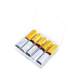 Transfer Foil Box Gold & Silver