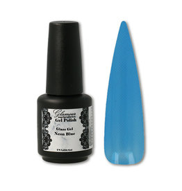 Gel On Glass Gel Neon Blue