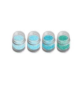 Pastel Glitter Blue