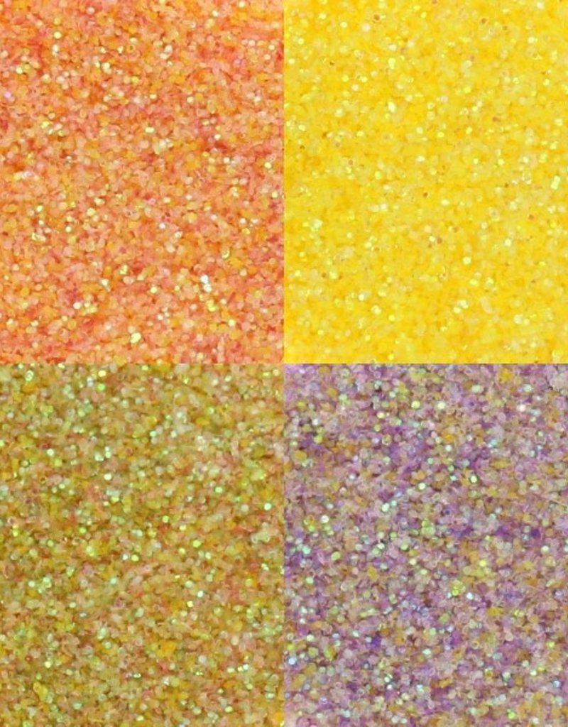 Pastel Glitter Orange