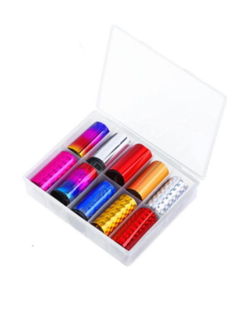 Transferfolie Box Color Bomb