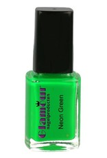 Stamping Nailpolish Neon Green