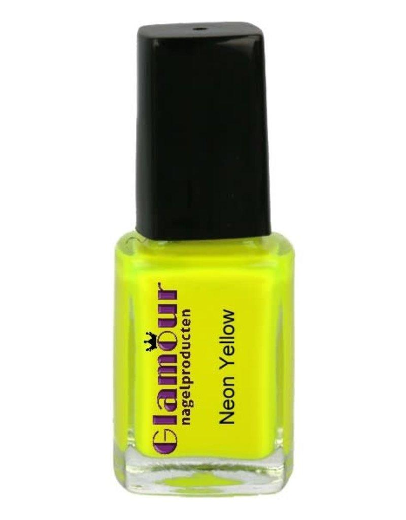 Stamping Nailpolish Neon Yellow