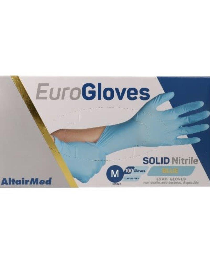 Handschoen Nitrile Blauw M 100 pcs