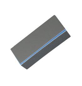 Vijl Hoogglans Polijstblok Blauw