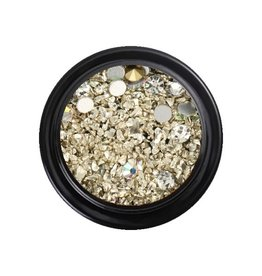 Crystal Mix Light Gold