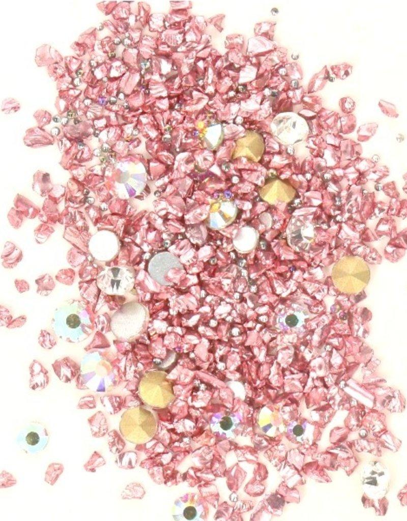 Crystal Mix Rosegold