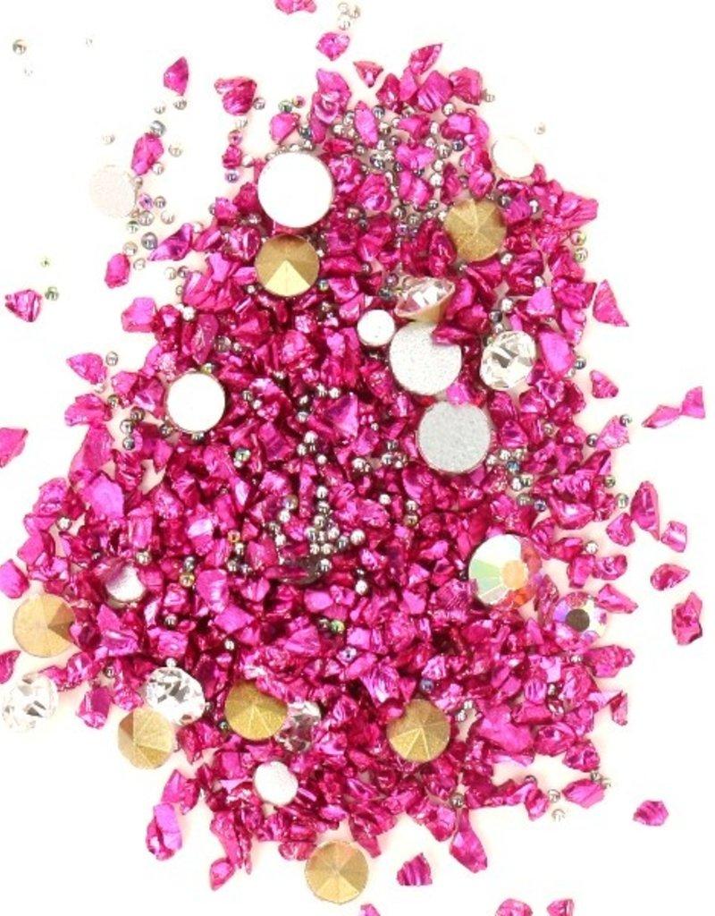 Crystal Mix Fuchsia