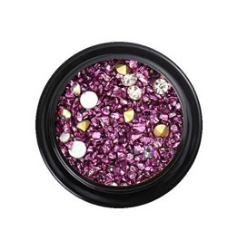 Crystal Mix Purple