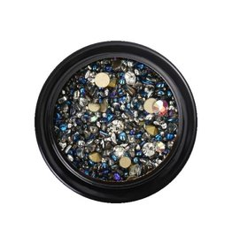 Crystal Mix Grey/Blue