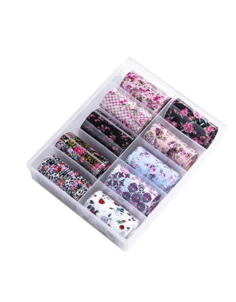 Transferfolie Box Floral Cuteness